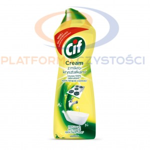 CIF cream mleczko Lemon 750 ml