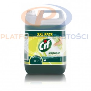 CIF Professional Hand Dishwash Extra Strong Lemon 5L